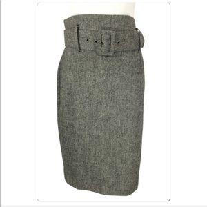 Dalia Collection Classic wool blend skirt size 8